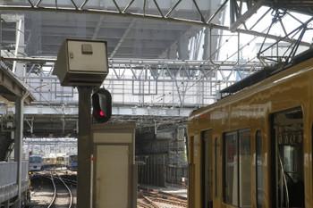2017年9月9日、西武の池袋駅。