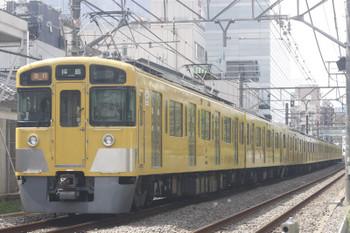2017年9月11日、高田馬場~下落合、2455F+2055Fの2321レ。