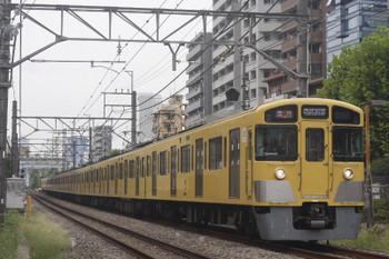 2017年9月22日、高田馬場~下落合、2095F+2409Fの2338レ。
