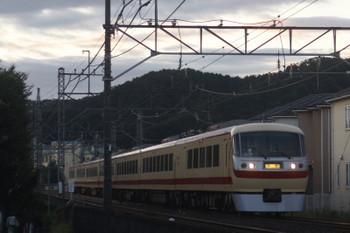 2017年9月29日、仏子〜元加治、10105Fの下り回送。