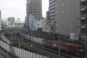 2017年10月8日 11時58分ころ、大塚~池袋、EH500-31牽引のコンテナ貨物列車。