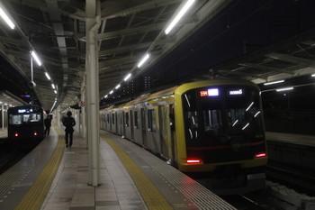 2017年11月11日、入間市、20153Fの4145レを東急4110Fの1717レが追い抜き。