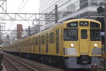 2017年11月20日、高田馬場〜下落合、2451F+2007Fの4307レ。