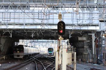 2017年12月9日 9時25分ころ、池袋、1・2番ホームから発車した10107Fの鉄コン臨時列車。