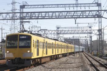 2017年11月12日 11時15分ころ、小手指、263F+40104F5両の回送列車が3番ホームへ到着。