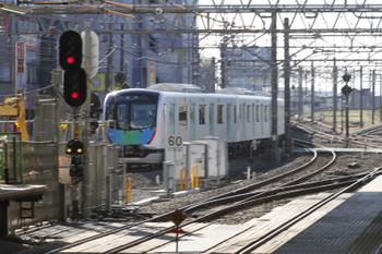 2017年11月25日 10時9分ころ、所沢、通過した40104Fの下りイベント列車。