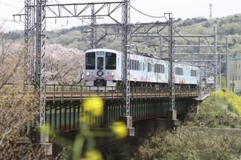 2017年4月16日 12時9分ころ、仏子〜元加治、4009Fの下り列車。