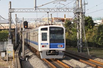 2017年11月3日 15時24分ころ、武蔵藤沢、6153Fの快速急行 入間市ゆき。