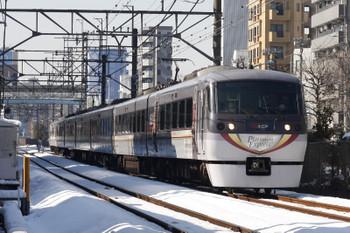2018年1月23日 12時34分ころ、高田馬場~下落合、10104Fの上り特急。