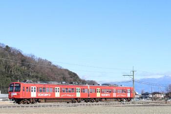2018年1月1日、山名〜西山名、503+504の22レ。