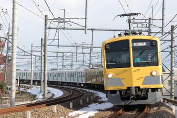 2018年1月28日 14時18分ころ、所沢~西所沢、263F+40105Fの池袋方5両の下り列車。