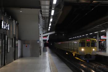 2018年3月1日 5時29分ころ、所沢、2021Fの上り回送列車。