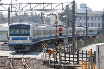 2018年3月4日、萩山、1261Fの6407レ。