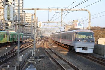 2018年3月25日 6時35分ころ、練馬、10109Fの上り回送列車。