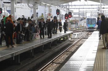 2017年3月25日 8時41分ころ、飯能、西武秩父へ発車した40101Fの西武秩父ゆきS-Trainの401レ。