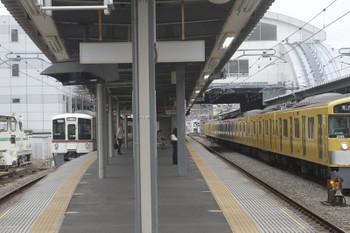 2017年6月18日 7時57分ころ、東長崎、4番ホームから発車した1003レ用の送り込み上り回送列車。