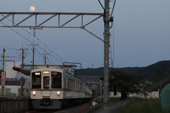 2018年4月29日 18時24分ころ、元加治、4003F+4001Fの下り回送列車。