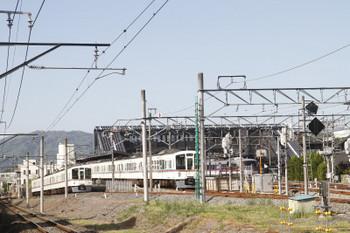 2018年5月4日、御花畑~横瀬、4021Fの秩父鉄道S5列車。