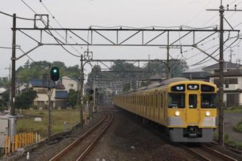 2018年6月18日、元加治、2075F+2463Fの3102レ。一番列車。