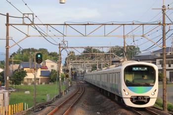 2018年7月14日、元加治、30104Fの3102レ。一番列車。