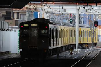 2018年7月17日 17時35分ころ、所沢、6番線から下り方へ発車した2503Fの回送列車。狭山線に向かったのでしょう。