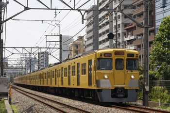 2018年7月19日、高田馬場~下落合、2003F+2401Fの2644レ。
