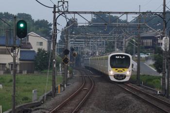 2018年7月19日、元加治、38105F+32103Fの3102レ。一番列車。
