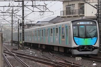 2018年7月28日、仏子、40101FのS-Train 402レ。