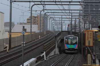 2018年7月28日 5時39分ころ、練馬、発車した40102Fの上り回送列車。元町・中華街ゆき。