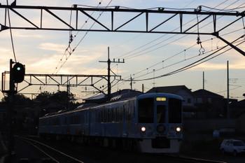 2018年7月29日 18時54分ころ、元加治、4009Fの上り列車。