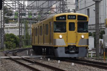 2018年8月3日、高田馬場〜下落合、2519Fほかの5629レ。