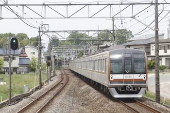 2017年5月7日 11時24分ころ、元加治、メトロ10130Fの上り回送列車(73S)。