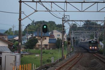2018年8月4日、元加治、20104Fの3102レ・一番列車。