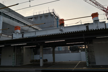 2018年8月6日、所沢、3番ホーム飯能方から4・5番ホーム中央方を見たところ。