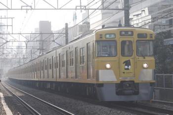 2017年3月30日、高田馬場~下落合、2007F+2407Fの4307レ。