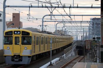 2018年9月1日6時11分、練馬、通過した2087Fの上り回送列車。