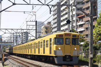 2018年9月5日、高田馬場~下落合、2027F+2543Fの2332レ。