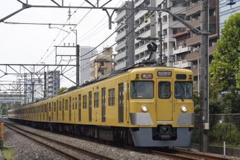 2018年9月6日、高田馬場~下落合、2000系2連+N2000系8連の2642レ。