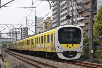 2018年9月6日、高田馬場~下落合、38105Fの5822レ。
