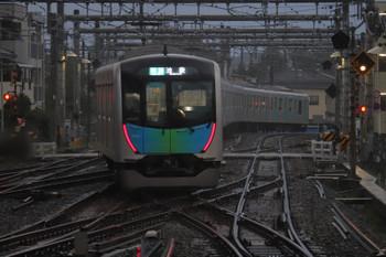 2018年9月17日、飯能、1番ホームから発車する40101Fの4144レ。