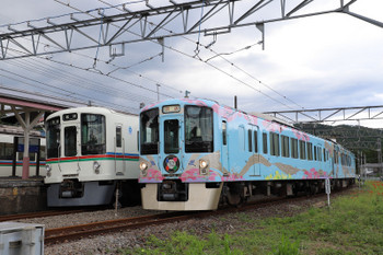 2018年9月17日 13時28分、高麗、4009Fの上り回送列車が発車。