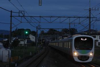 2018年10月1日 5時29分ころ、元加治、38102F+32103Fの上り回送列車。