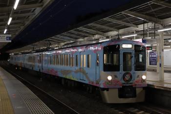 2018年10月8日 17時36分ころ、入間市、4009Fの下り列車。