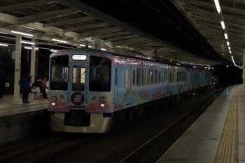 2018年10月8日 18時21分ころ、入間市、4009Fの上り列車。
