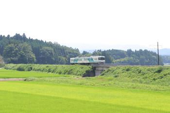 2018年7月27日 13時7分ころ、横倉〜岡、槻木ゆきの2連。