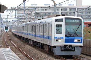 2018年10月13日 11時3分ころ、中村橋、試運転の6151Fが通過。