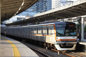 2018年10月20日、入間市、メトロ10023Fが代走の3402レ。
