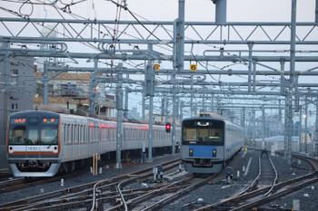 2018年10月20日、石神井公園、メトロ10023Fが代走の6501レ(16M)。