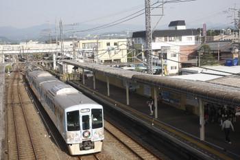 2017年6月10日 7時10分ころ、仏子、中線に到着する4009Fの上り回送列車。
