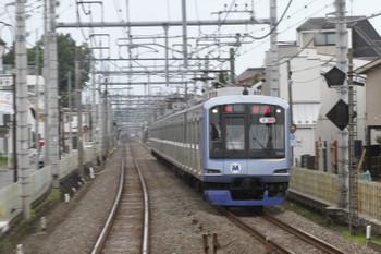 2017年7月2日 16時32分ころ、清瀬~秋津、Y511Fの上り回送列車。
